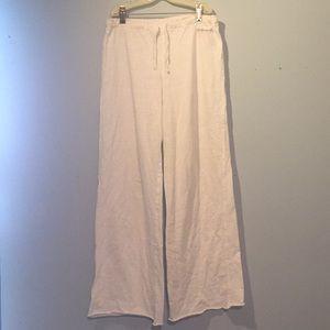 Ralph Lauren wide leg drawstring pants